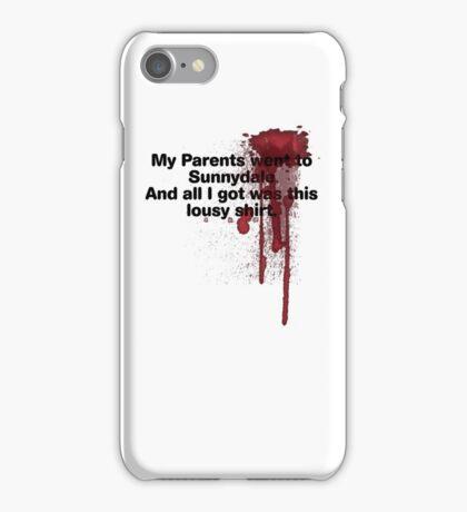 My Parents Went to Sunnydale Parody version 1 iPhone Case/Skin