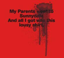 My Parents Went to Sunnydale Parody version 1 Baby Tee