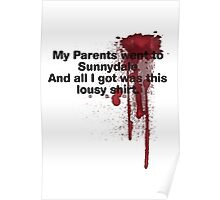 My Parents Went to Sunnydale Parody version 1 Poster