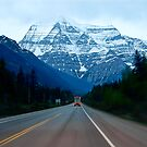 """Mount. Robson Straight  Ahead""  by Dyle Warren"