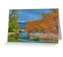Autumn On My Mind  - Ross, Tasmania - The HDR Experience Greeting Card