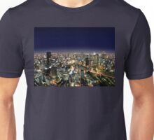 Osaka by Night - Japan Unisex T-Shirt