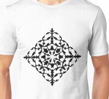 taj mahal engraving - papercut pattern Unisex T-Shirt
