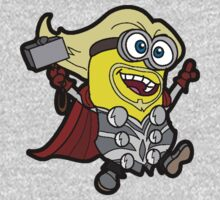 Minions Assemble - Lord of Thunder, Prince of Mingard One Piece - Short Sleeve