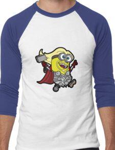 Minions Assemble - Lord of Thunder, Prince of Mingard Men's Baseball ¾ T-Shirt
