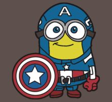 Minions Assemble - Captain Minerica Kids Clothes