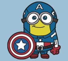 Minions Assemble - Captain Minerica by ultimatewarrior