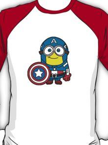 Minions Assemble - Captain Minerica T-Shirt