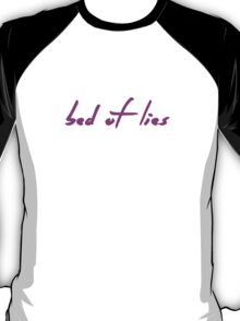 The Pinkprint: Bed Of Lies [Song Titile] T-Shirt