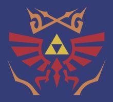 Zelda - Hylian Shield Pattern by nintendino