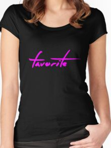 The Pinkprint: Favorite [Song Titile] Women's Fitted Scoop T-Shirt
