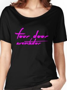 The Pinkprint: Four Door Aventador [Song Titile] Women's Relaxed Fit T-Shirt