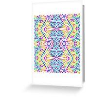 Tribal kaleidoscope. Greeting Card