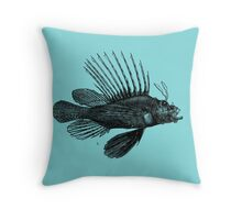 A Fish Called Spike Throw Pillow