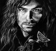 Kili in Scratchboard by LKBurke29