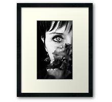Beauty in her 50s Framed Print