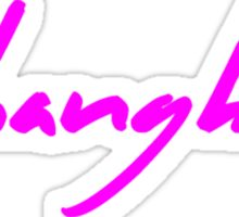 The Pinkprint: Shanghai [Song Titile] Sticker