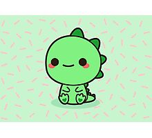 Kawaii Dinosaur Photographic Print