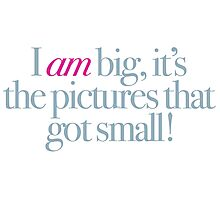 Sunset Boulevard - I am big, it's the pictures that got small Photographic Print