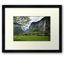 Amazing Switzerland Framed Print