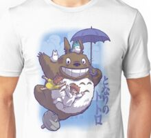 Totoro in Flight Unisex T-Shirt