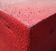 Red concrete by Ivan Cabrera