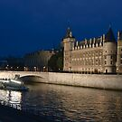 Conciergerie at Night, Paris by Anatoliy