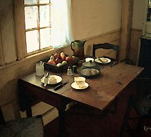 Sunlight on Dining Table by RC deWinter