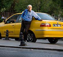 Gypsy Cabbie by phil decocco