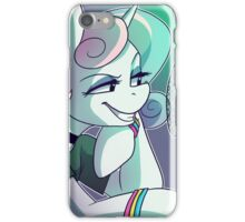 College Radio Host Sweetie Belle iPhone Case/Skin