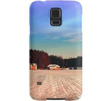 Amazing vivid winter wonderland | landscape photography Samsung Galaxy Case/Skin