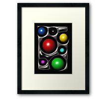 Tasty Dots, In Black Framed Print