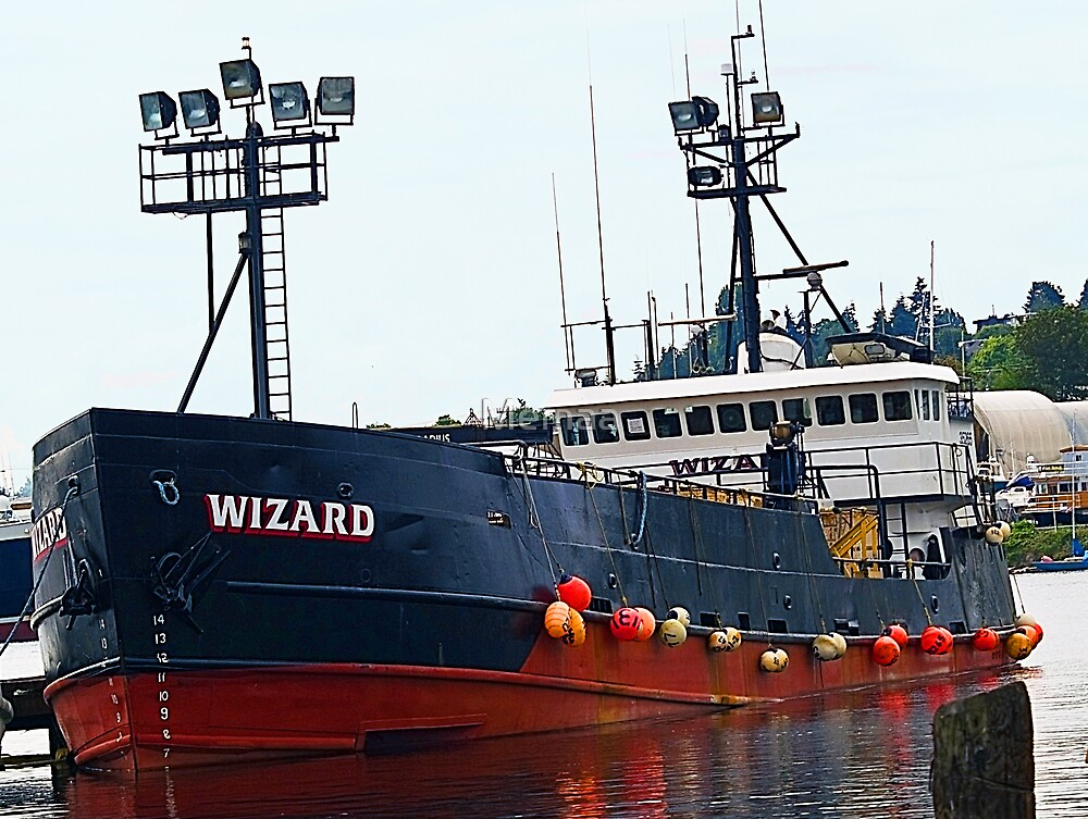 """The """"Wizard"""", Deadliest Catch Crab Boat by Memaa"""