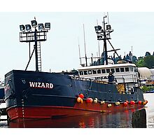 "The ""Wizard"", Deadliest Catch Crab Boat Photographic Print"
