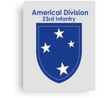 Americal Division - 23rd Infantry Canvas Print