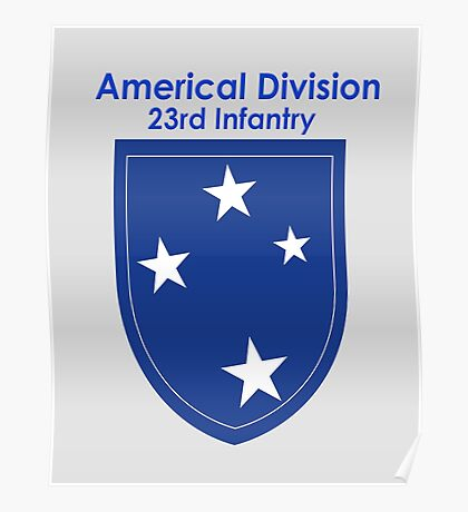 Americal Division - 23rd Infantry Poster