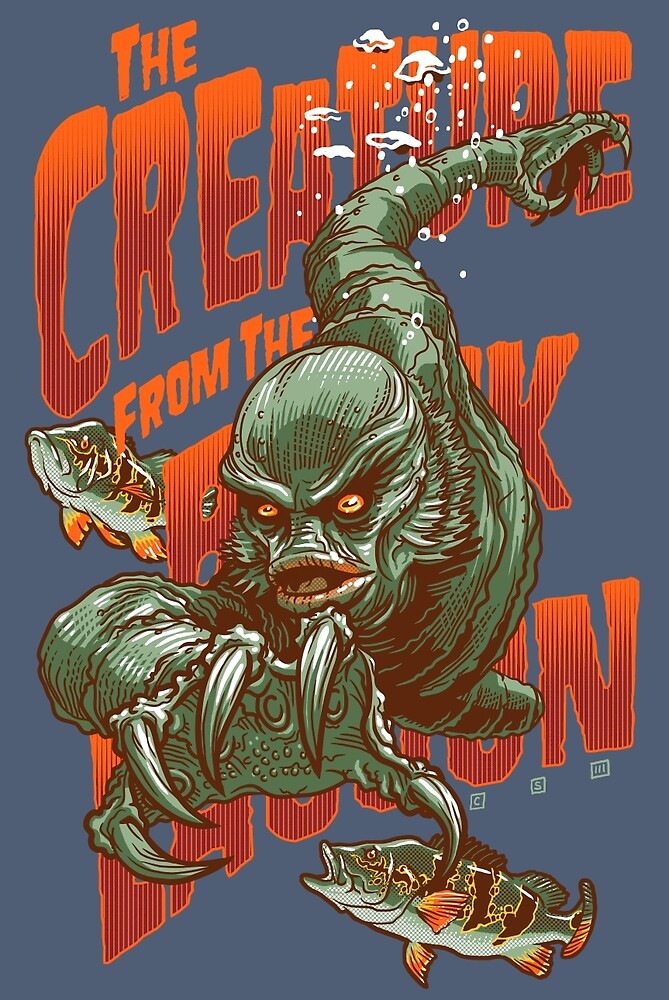 The Creature by cs3ink