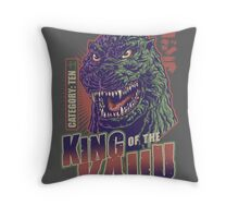 King of the Kaiju Throw Pillow