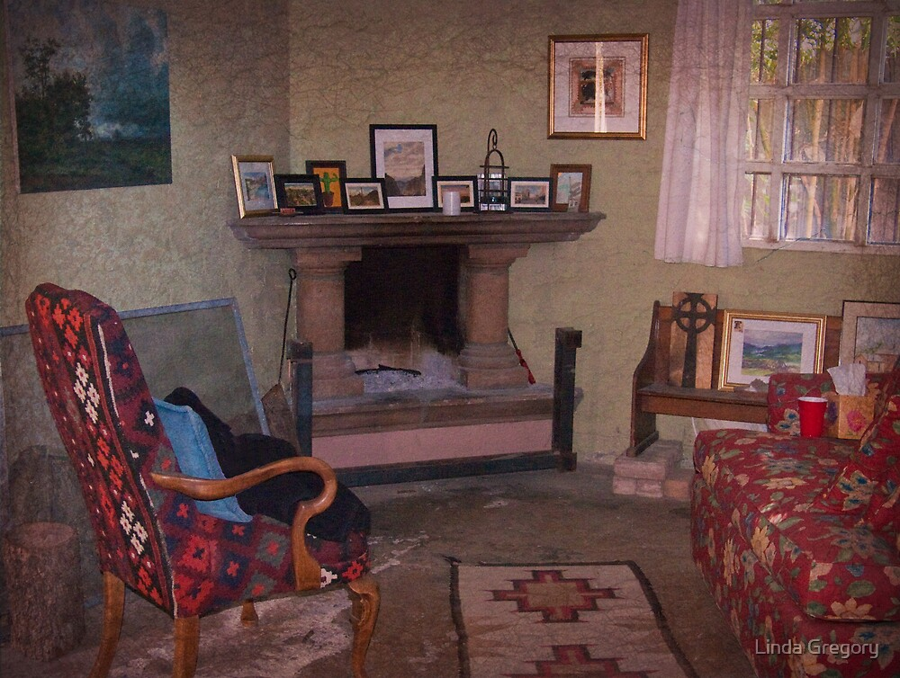Old Church Sitting Room by Linda Gregory