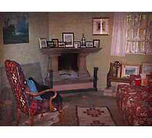Old Church Sitting Room Photographic Print