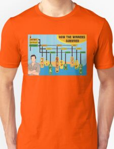 Survivor Winners Infographics T-Shirt