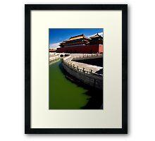 First Court - The Forbidden City, China Framed Print