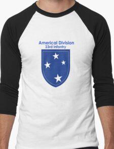Americal Division - 23rd Infantry Men's Baseball ¾ T-Shirt