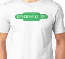 Upper Froxley Station Sign Unisex T-Shirt
