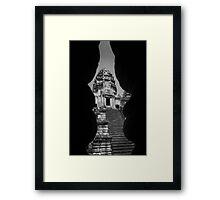 Angkor Wat Tower - Angkor Wat, Cambodia Framed Print