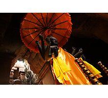 Vishnu Statue - Angkor Wat, Cambodia Photographic Print