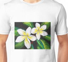Tropical Plumeria Unisex T-Shirt