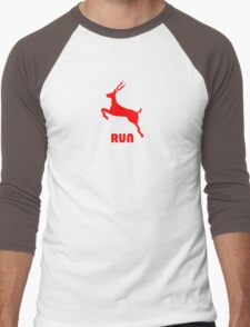 Antelope Red Men's Baseball ¾ T-Shirt