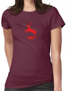 Antelope Red Womens Fitted T-Shirt