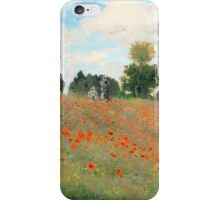 Monet Lurking Troops iPhone Case/Skin